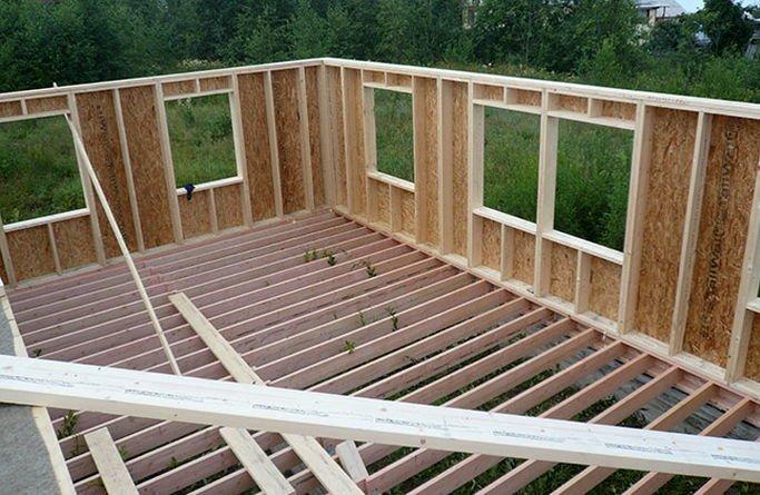 Сколько стоит каркасный дом своими руками построить
